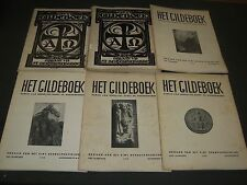 1929-1948 HET GILDEBOEK RELIGION ARCHEOLOGY DUTCH MAGAZINE LOT OF 20 - O 2516