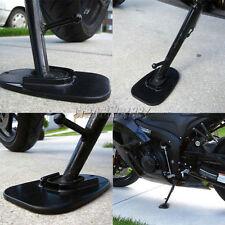 Kickstand Side Stand Plate Pad Base for Motorcycle Yamaha Honda Harley Universal