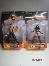 NEW SEALED figure lot Mortal Kombat MILEENA + SHANG TSUNG Infinite Concepts 2000