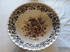 HAND ENGRAVED - GREAT CONDITION - Large Bowl Ridgway Staffordshire 'Clifton'