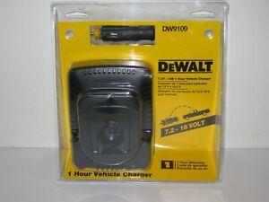 DeWALT DW9109 CAR VEHICLE BATTERY CHARGER 12V - 18V DC9096 **NEW