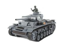 2.4Ghz 1/16 German PanzerKampfwagen III RC Battle Tank w/Smoke & Sound R/C RTR
