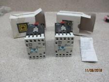 Lot Of 2 Square D Contactor 110V 50/60Hz 120V 60Hz Ser.B #1210852M *Nib