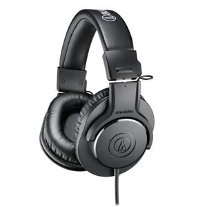 Audio Technica ATH-M20X Professional Studio Monitor Headphones - Black