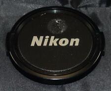 Genuine Original Nikon 58mm Camera Front Plastic Snap On Lens Cap Cover