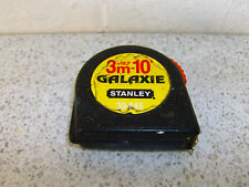 Vintage Stanley Galaxie 3m / 10ft Length 12.7mm Width 30-845 Tape Measure