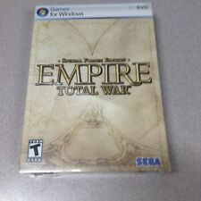 Empire: Total War -- Special Forces Edition (PC, 2009) Windows PC-DVD  NEW