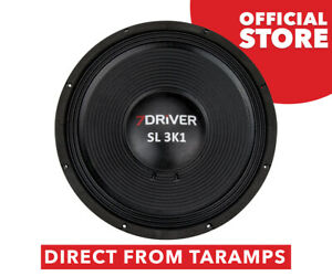 """7Driver 15"""" SL 3K1 4 Ohm Speaker 1550W RMS by Taramps Direct From Taramps"""