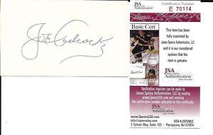 Joe Adcock Autograph 3X5 Reds 1950 D-99 JSA COA EX!!