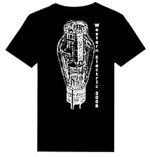 Western Electric 300B Audio Tube print Heavy Weight T - Shirts  S - 5XL