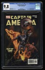 Captain America (2005) #5 Cgc Nm/M 9.8 White Pages