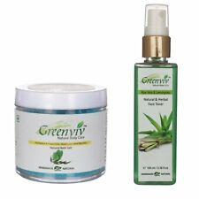 Greenviv Natural Combo of Aloe-Vera & LemonGrass Face Toner (100 ml) With Eucaly