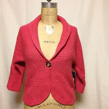 Jones New York Petite One Button Cardigan PP NWT $99