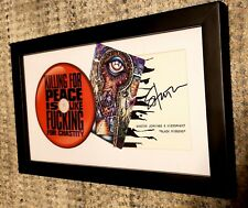 Autographed & Framed Shooter Jennings CD Memorabilia Piece Country Rock Waylon