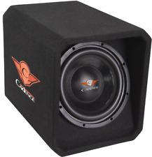 "Cadence QUBE10VP 10"" 400W Passive Car Audio Subwoofer Enclosure"