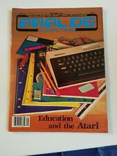 Atari Analog Computing Magazine September 1984 No 22 Like New