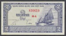 Vietnam South 2 Dong Banknote P-12 Nd 1955 Unc