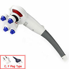 New Squirrel WHM-7 Hand Massage Handheld Massager Power Motor 220V +3 Heads