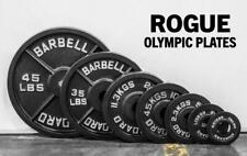 **FREE SHIP ROGUE OLYMPIC PLATES CAST IRON IN HAND READY TO SHIP 5 10 25 **