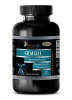 STEM CELL Supplement - Organic Blue Green Algae 500mg Powder - 1 Bottle