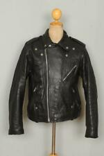 Vtg HARLEY DAVIDSON Leather Motorcycle Biker Jacket Large