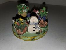 Our America By Yankee Candle Capper Jar Topper Christmas Snowman Ice Skates