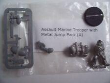 Warhammer 40K nuevo asalto Marina Trooper un Modelo de Metal. paquete de salto con metal,