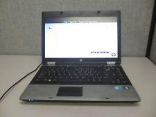 """HP ProBook 6450b 14"""" i5-M520 2.4GHz 4GB/160GB DVDRW WiFi """"NO BATTERY"""" Laptop +AC"""