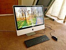 """Fast Apple iMac A1225 24"""" All In One 2008  4GB RAM 1TB HDD EI Caption Windows 10"""