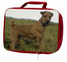 More details for lakeland terrier dog insulated red school lunch box/picnic bag, ad-lt1lbr