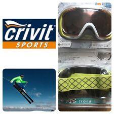 Crivit Sport Ski And Snowboarding Goggles 100%UV,optical Class 1,filter S2