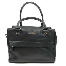 Kate Spade Black Pebbled Leather Medium Sized Hand Bag