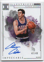 2018-19 ALVAN ADAMS AUTO PANINI IMPECCABLE ILLUSTRIOUS INK 47/49 PHOENIX SUNS