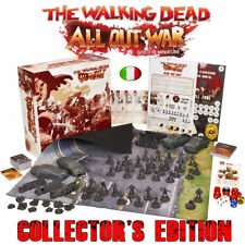 The Walking Dead, All Out War - Gioco di Miniature, Collector's Edition, Italian
