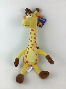 """Toys R Us Geoffrey the Giraffe Yellow 18"""" Plush Stuffed Toy New with Tags 2017"""