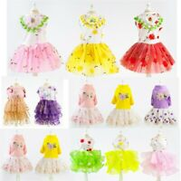 Small Pet Puppy Lace Skirt Dog Cat Princess Tutu Dress Summer Clothes Apparel