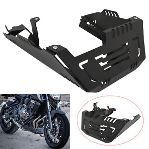 Engine Guard Skid Plate Belly Pan Protection For YAMAHA FZ07 MT-07 Tracer XSR700