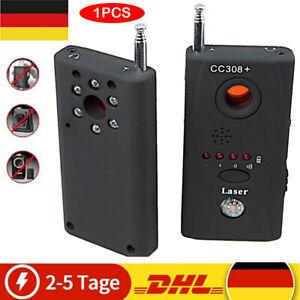 CC308+ Kamera Abhörgeräte Wanzenfinder Detektor RF SPY BUG GSM GPS Wireless DE