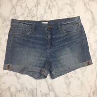 J Crew Womens Size 29 Jean Shorts Medium Wash