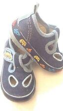 CAX - scarpe di jeans da bambini - blu  - suola nera con disegni - N° 21 - USATI