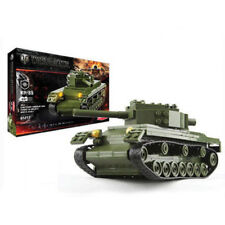 Toy Construction Set Armoured Fighting Vehicle Tank KV-85 World of Tank 234 pcs