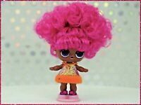 LOL Surprise Doll Hairvibes Rare Supreme Queen NEW Sealed Gold Ball Hair Vibes