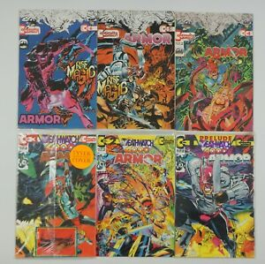 Armor vol. 2 #1-6 VF/NM complete series - continuity 2 3 4 5 neal adams w/ cards