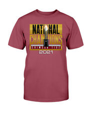 Alabama Crimson Tide College Football 2021 National Champions Unisex T Shirt