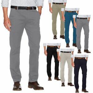 New Mens G72 Branded Chino Summer 100% Cotton Regular Straight Leg Pants Trouser