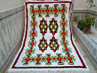 Moroccan Handmade Vintage Berber Rug Beni Ourain Carpet Bohemian Tribal Rug