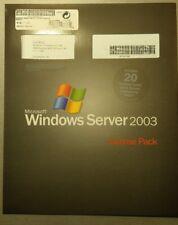 MS Windows Server 2003 Terminal Server  20 user CAL