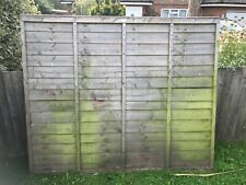 New listing Fence panels second hand collection only East Sussex