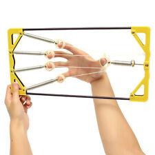 Adjustable Finger Hand Power Up Trainer Hand Grip Exerciser for Guitar Music Spo