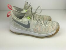 Nike Zoom KD 9 Multi-Color/Metallic Silver 843392-900 Summer Pack Size 8.5